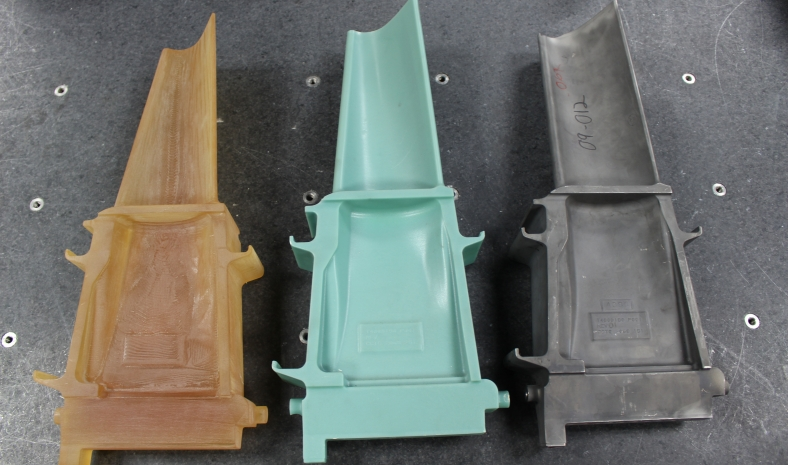 MS9001 Buckets (3-D, wax and casting)